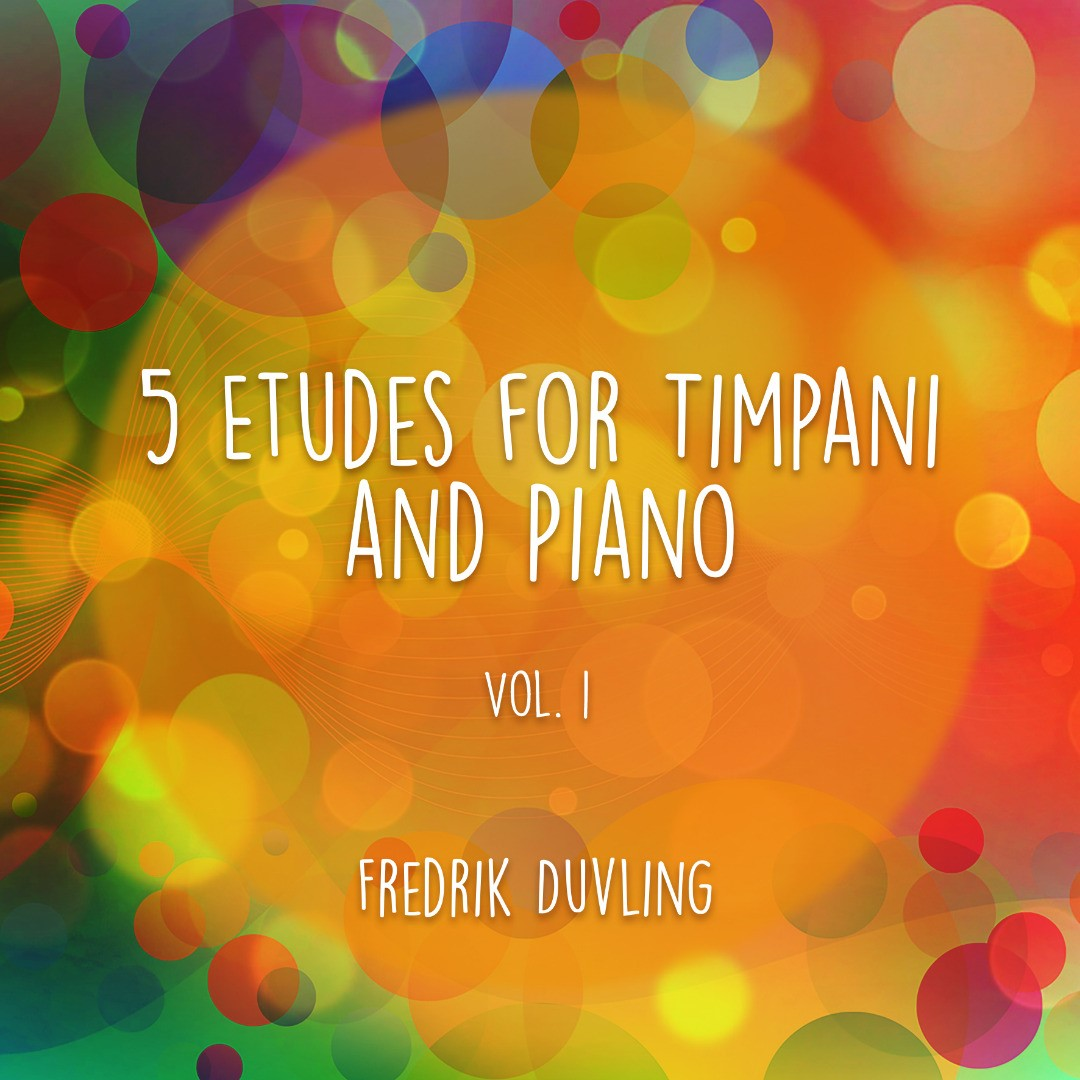 5 Etudes for Timpani and Piano (vol. 1)